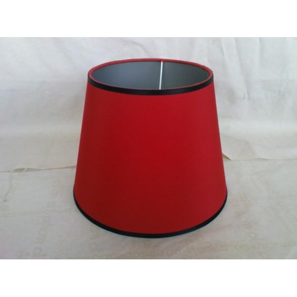Αμπαζουρ Στρογγυλο Κολλητο Κοκκινο ΚΩΔ.005