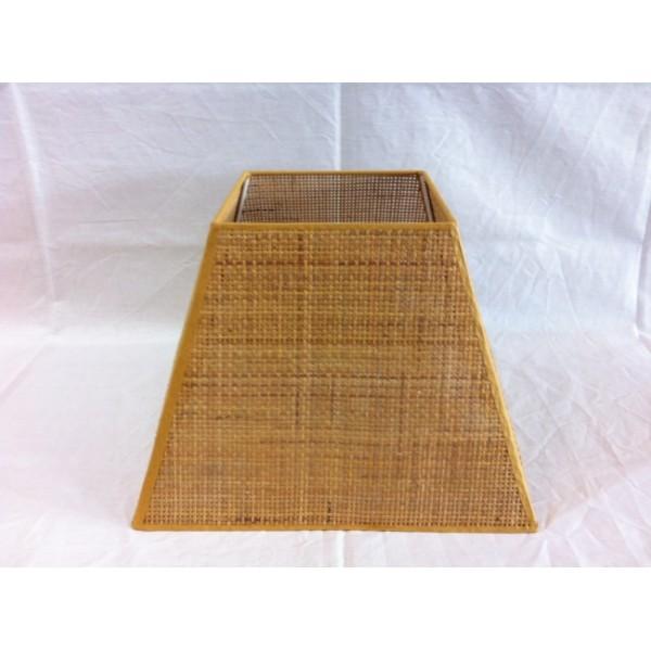 Κολλητά - Αμπαζουρ Τετραγωνο Κολλητο Ψαθα ΚΩΔ.014 ΚΟΛΛΗΤΑ