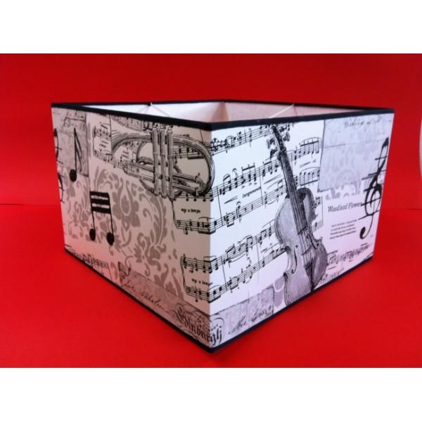 Κολλητά - Αμπαζουρ Τετραγωνο Κολλητο Νοτες ΚΩΔ.030 ΚΟΛΛΗΤΑ